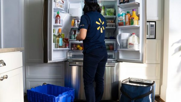 Walmart kicks off in-home grocery delivery starting today