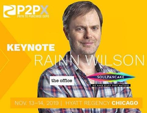 """Rainn Wilson From """"The Office"""" to Keynote Path to Purchase Expo"""